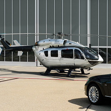 Exclusive Rental: Helicopter
